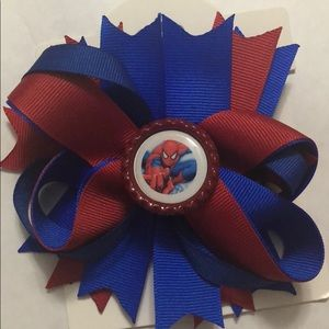 Spiderman girls Hair bow